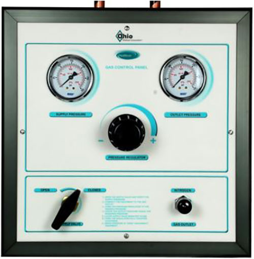 Gas Control Cabinet - Accessories