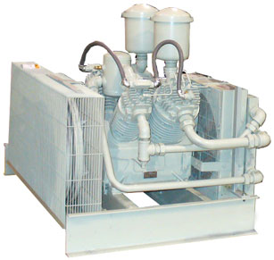 Quincy Oil-less Two Stage Piston Compressors