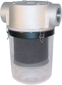 T-Style Vacuum Filters with Clear Housing