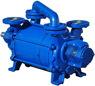 Liquid Ring Vacuum Pumps: 30-75 HP Single & Two Stage