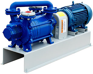 Monobloc Liquid Ring Vacuum Pumps for Plastic Extrusion Venting