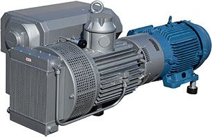Rotary Vane Vacuum Pumps: 10-25 HP