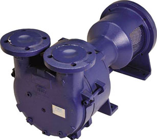 Liquid Ring Vacuum Pumps: Compact, NEMA Flange